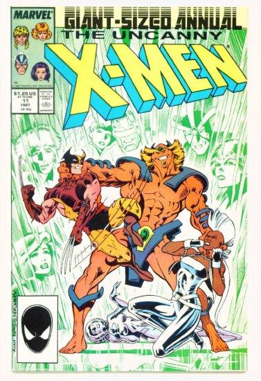UNCANNY X-MEN ANNUAL #11 Marvel Comics 1987 NM Captain Britain