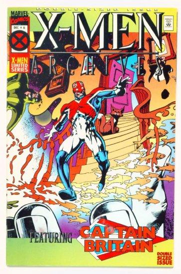 Captain Britain X-MEN ARCHIVES #6 Marvel Comics 1995 Alan Moore