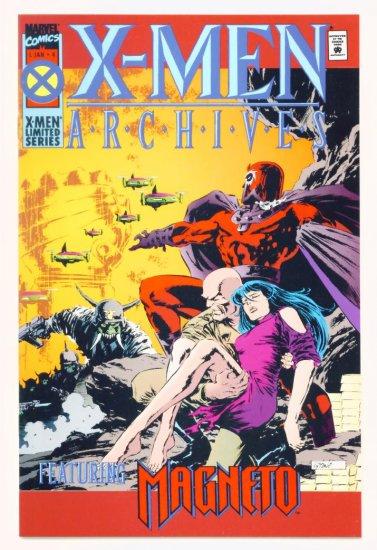 Magneto X-MEN ARCHIVES #4 Marvel Comics 1995