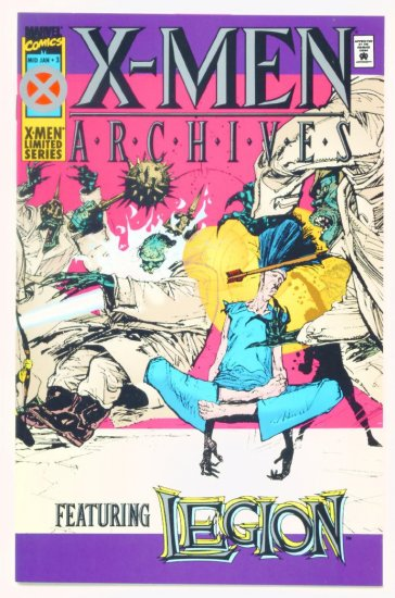 X-MEN ARCHIVES #3 Marvel Comics 1995