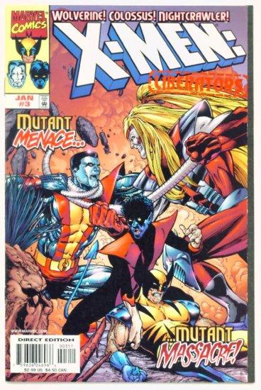 X-MEN LIBERATORS #3 Marvel Comics 1999 NM