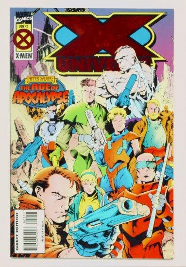X-MEN X-UNIVERSE #2 Marvel Comics 1995 NM Age of Apocalypse