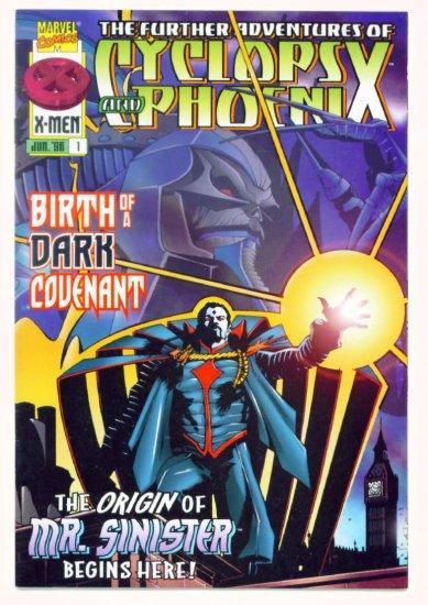 The FURTHER ADVENTURES of CYCLOPS and PHOENIX #1 Marvel Comics 1996 NM X-MEN