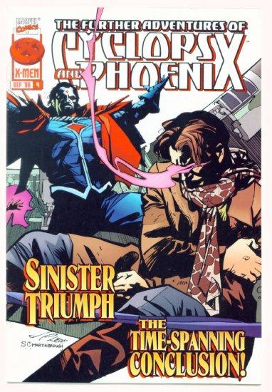 The FURTHER ADVENTURES of CYCLOPS and PHOENIX #4 Marvel Comics 1996 NM X-MEN