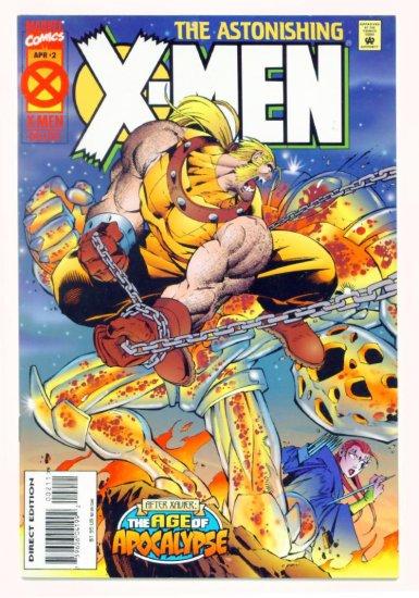 ASTONISHING X-MEN #2 Marvel Comics 1995 NM