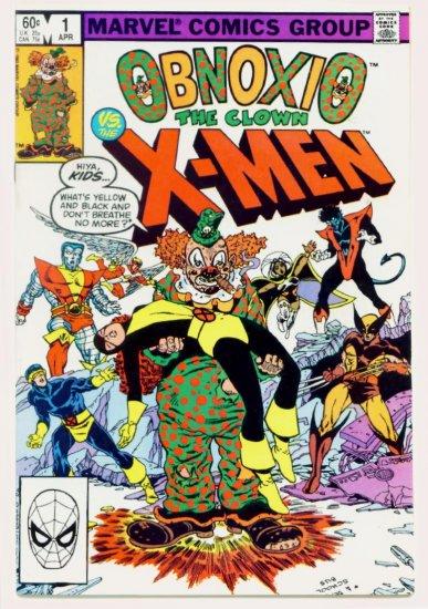 X-MEN VS OBNOXIO #1 Marvel Comics 1983