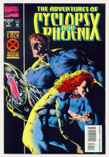 The ADVENTURES of CYCLOPS and PHOENIX #1 Marvel Comics 1994 NM X-MEN