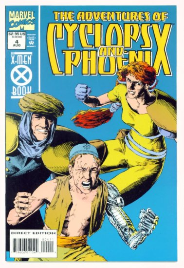The ADVENTURES of CYCLOPS and PHOENIX #4 Marvel Comics 1994 NM X-MEN