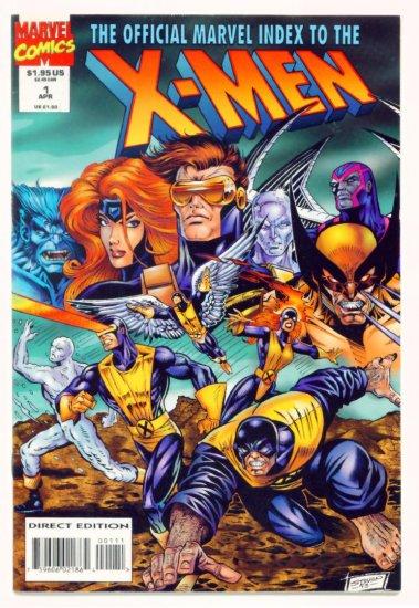 X-MEN OFFICIAL MARVEL INDEX #1 Marvel Comics 1994 NM