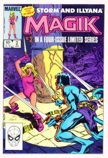 MAGIK #2 Marvel Comics 1983 NM X-Men