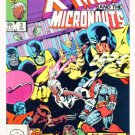 X-MEN and the MICRONAUTS #2 Marvel Comics 1984 NM X-Men