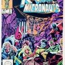 X-MEN and the MICRONAUTS #3 Marvel Comics 1984 NM X-Men