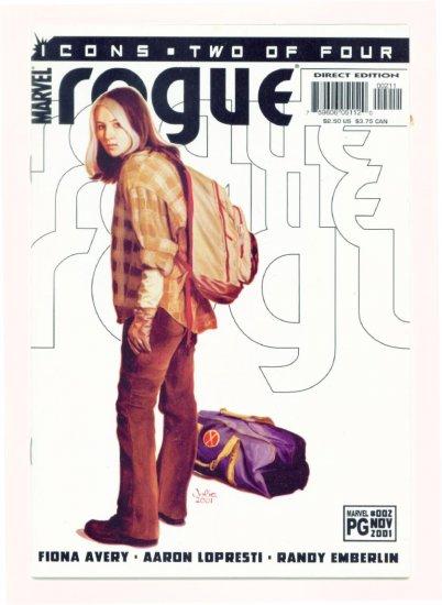 ROGUE ICONS #2 Marvel Comics 2001 NM X-Men