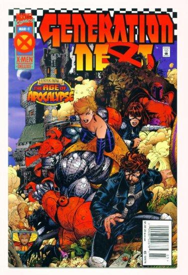 GENERATION NEXT #1 Marvel Comics 1995 X-Men