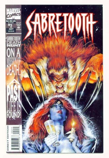 SABRETOOTH #2 Marvel Comics 1993 NM