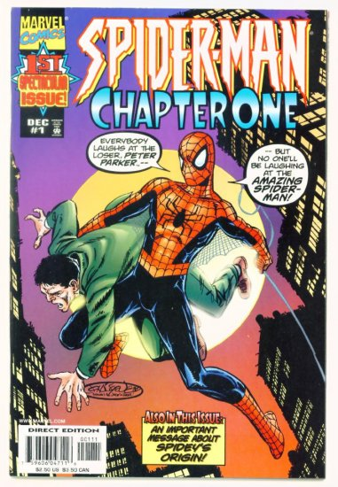 SPIDER-MAN CHAPTER ONE #1 Marvel Comics 1998 NM ORIGIN