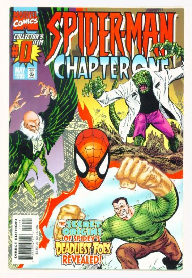 SPIDER-MAN CHAPTER ONE #0 Marvel Comics 1998 NM ORIGIN of VILLAINS