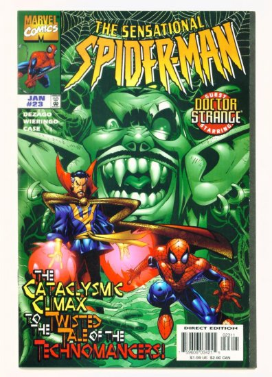 SENSATIONAL SPIDER-MAN #23 Marvel Comics 1997 NM