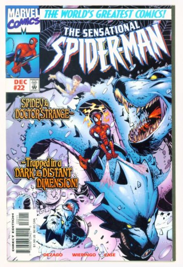 SENSATIONAL SPIDER-MAN #22 Marvel Comics 1997 NM