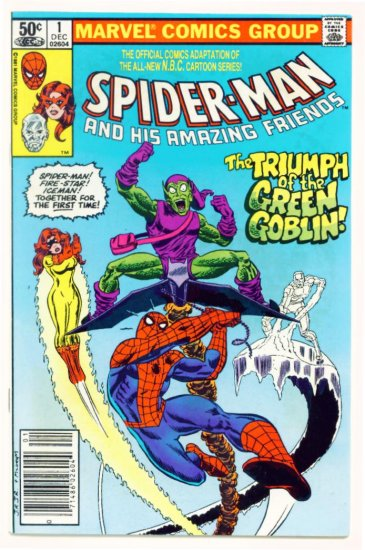 SPIDER-MAN and His AMAZING FRIENDS #1 Marvel Comics 1981