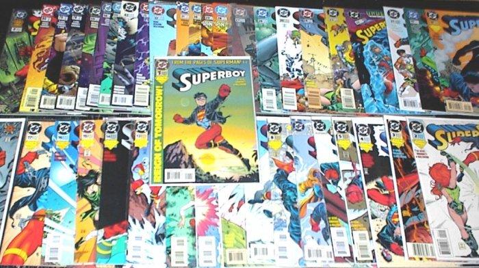 SUPERBOY Lot of 41 DC Comics #1 - #80 Volume 3