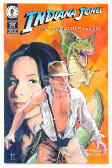 INDIANA JONES AND THE GOLDEN FLEECE #2 Dark Horse Comics 1994