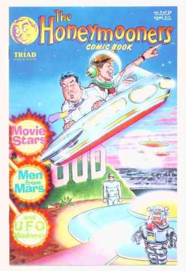The HONEYMOONERS #5 Triad Comics 1988 Jackie Gleason