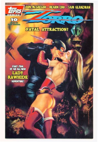 ZORRO #10 Topps Comics 1994 Lady Rawhide