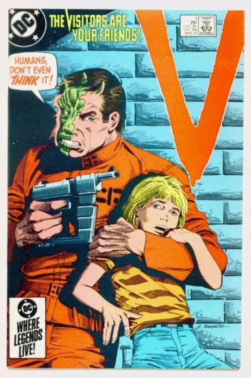 V The VISITORS #2 DC Comics 1985