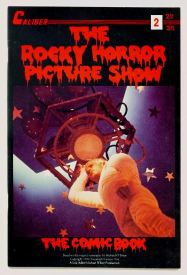 The ROCKY HORROR PICTURE SHOW #2 Caliber Comics 1990