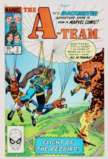 The A-TEAM #3 Marvel Comics 1984 NM