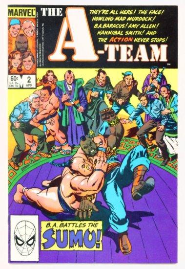 The A-TEAM #2 Marvel Comics 1984 NM