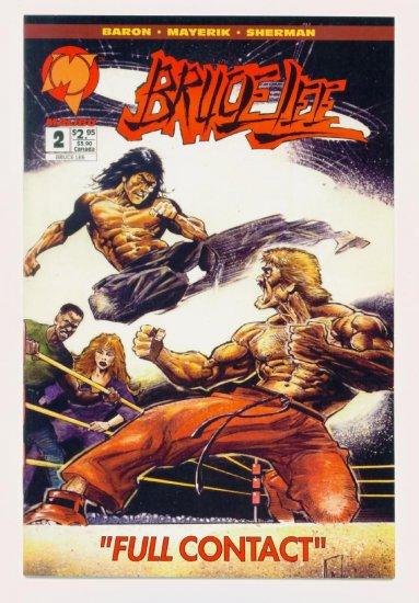 BRUCE LEE #2 Malibu Comics 1994 NM