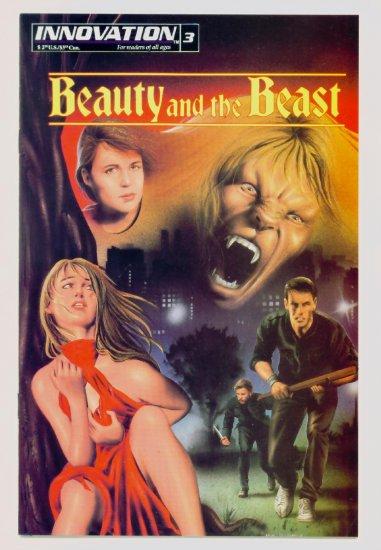 BEAUTY and the BEAST #3 Innovation Comics 1993 TV adaptation