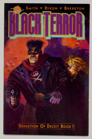 The BLACK TERROR #1 Eclipse Comics 1989