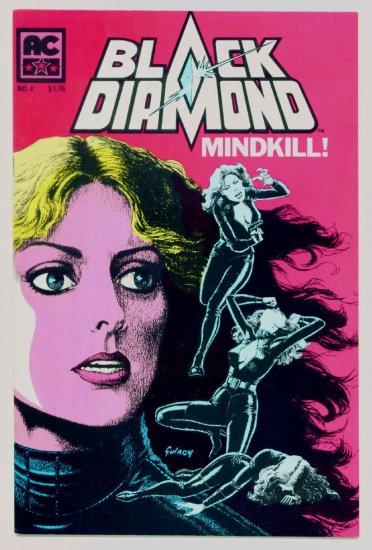 BLACK DIAMOND #3 AC Comics 1983 Sybil Danning