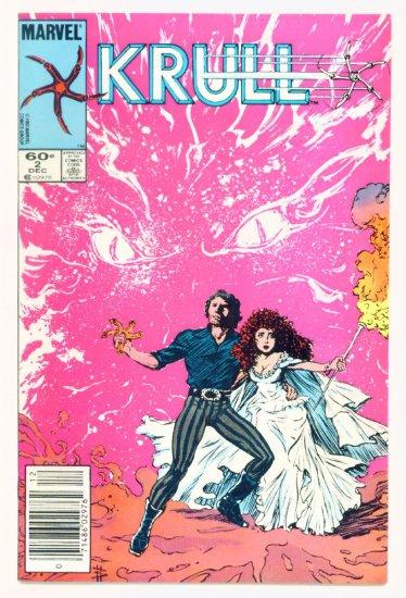 KRULL #2 Marvel Comics 1983 Movie Adaptation