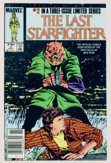 The LAST STARFIGHTER #2 Marvel Comics 1984 Movie Adaptation