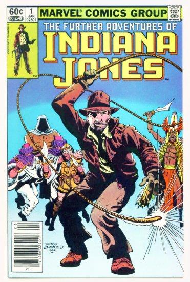 INDIANA JONES Further Adventures of #1 Marvel Comics 1983