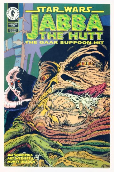 STAR WARS JABBA THE HUT #1 Dark Horse Comics 1995