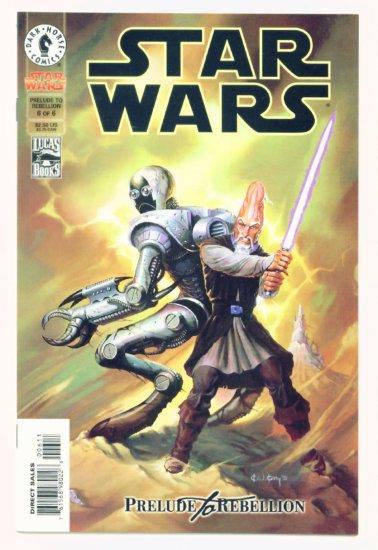 STAR WARS PRELUDE TO REBELLION #6 Dark Horse Comics 1999