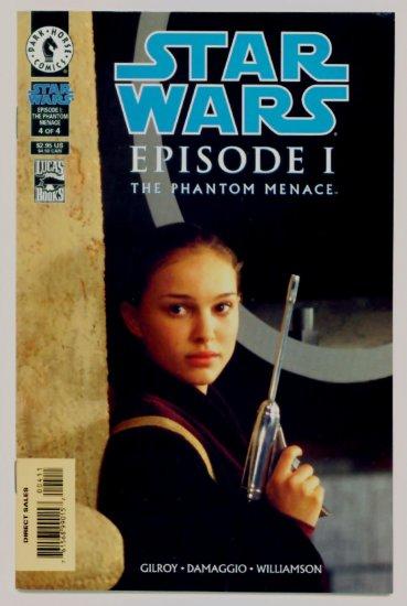 STAR WARS EPISODE 1 THE PHANTOM MENACE #4 Dark Horse Comics 1999
