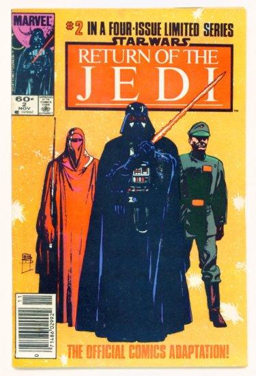 STAR WARS RETURN OF THE JEDI #2 Marvel Comics 1983