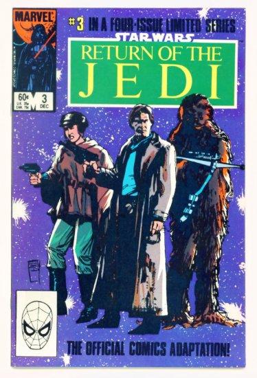 STAR WARS RETURN OF THE JEDI #3 Marvel Comics 1983