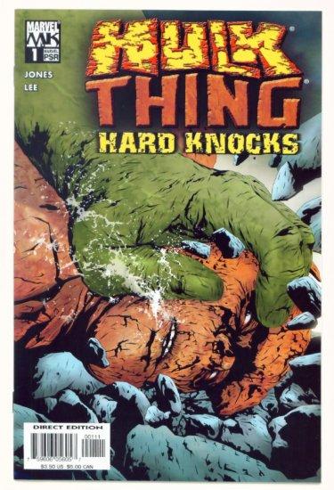 HULK vs THING HARD KNOCKS #1 Marvel Comics 2004 NM