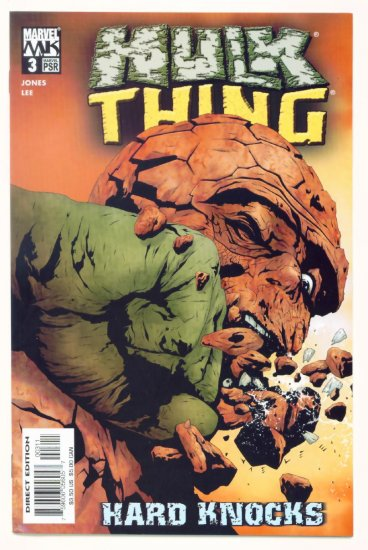 HULK vs THING HARD KNOCKS #3 Marvel Comics 2004 NM