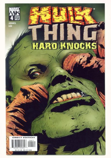 HULK vs THING HARD KNOCKS #4 Marvel Comics 2004 NM
