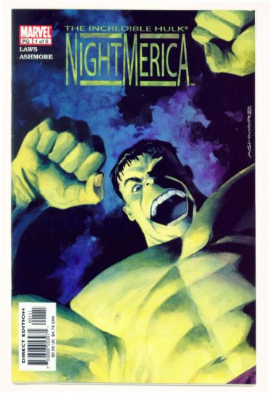 INCREDIBLE HULK NIGHTMERICA #1 Marvel Comics 2003 NM
