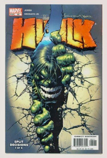 INCREDIBLE HULK #60 Marvel Comics 2003 NM