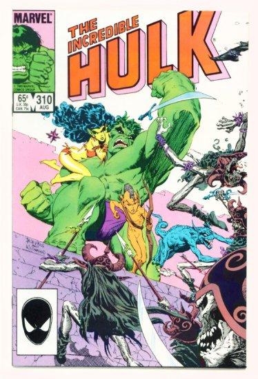 INCREDIBLE HULK #310 Marvel Comics 1985 NM
